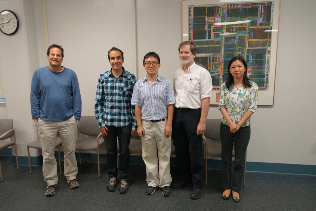 Dr. Jae Hoon Sul with his committee.